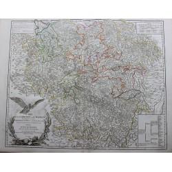 Carte de la Lorraine et du...