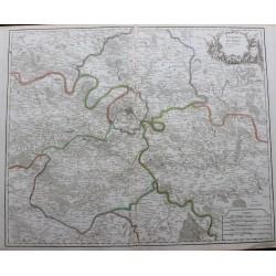 Carte des Environs de Paris...