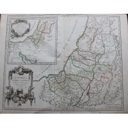 Carte de la Judée ou Terre...