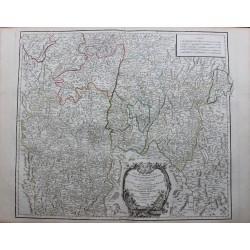 Carte de la Bourgogne...