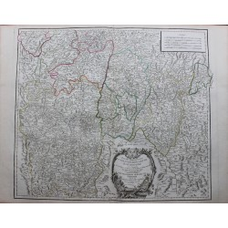 Map of Southern Burgundy...
