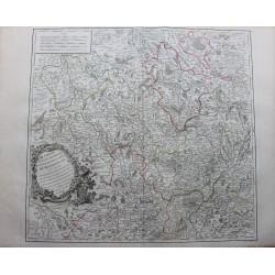 Mapa del norte de Borgoña...