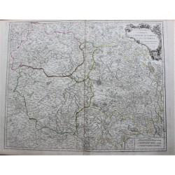 Mapa de las Marcas,...