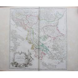 Carte de la Turquie...