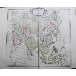 Carte de l'Asie - 1751 -...