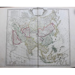 Mapa de Asia - 1751 - por...