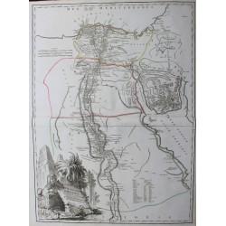 Mapa del antiguo y moderno...