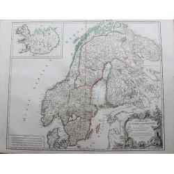 Carte des Royaumes de Suède...