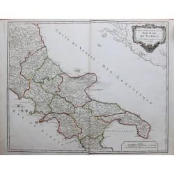 Mapa del Reino de Nápoles -...