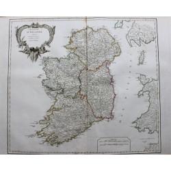 Carte du Royaume d'Irlande...