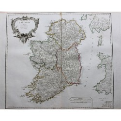 Mapa del Reino de Irlanda -...
