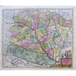 Carte de la Hongrie -...