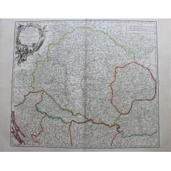 Carte du Royaume de Hongrie...