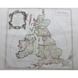 Carte de l'Ile Britannique...