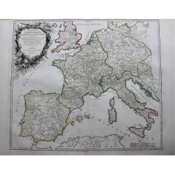 Map of Europe - 1752 - by...