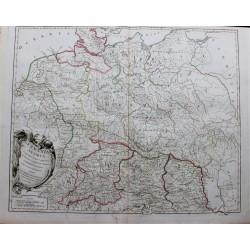 Mapa de la antigua Alemania...