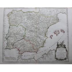 Mapa de la antigua España...