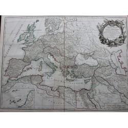Mapa del Imperio Romano...