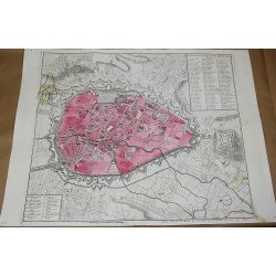 Map of the City of BRUSSELS...