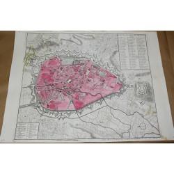 Mapa de la ciudad de...