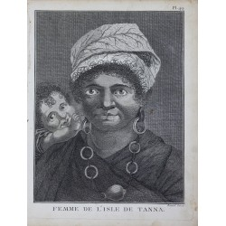 WOMAN OF THE ISLAND OF TANA...