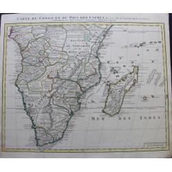 Mapa de Congo y el país...