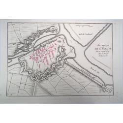 Attaques de l'Ecluse - 1747...