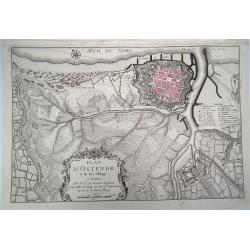 Plan d'Ostende et du Fort...