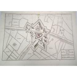 Plan du Fort de la Kenobe -...