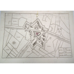 Plano de Fort de la Kenoke...