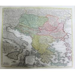 Carte des pays traversés...