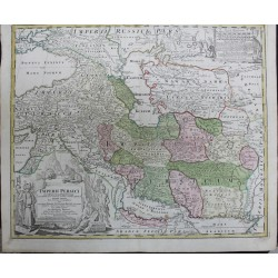 Carte de l'Empire Perse -...