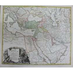 Carte de l'Empire Turc -...