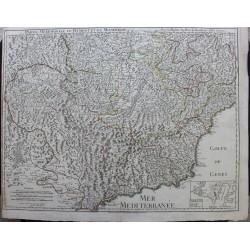 Carte du Piemont et du...