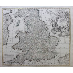 Map of England - by Covens...