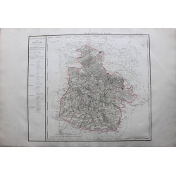 Map of ARDENNES  (08)