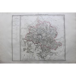 Carte de l'ARRIEGE (09)