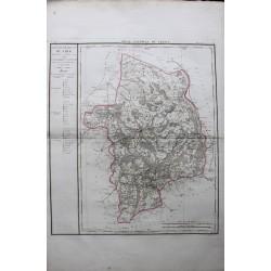 Carte du CHER (18)