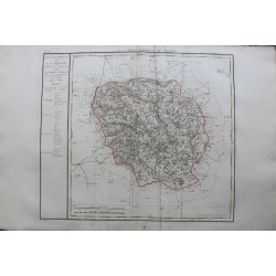 Map of CREUSE (23)