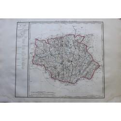 Carte du GERS (32)