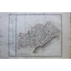 Map of HERAULT (34)