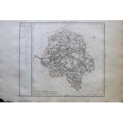 Carte de l'INDRE ET LOIRE (37)