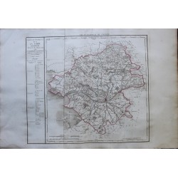 Map of LOIRE INFERIEURE...