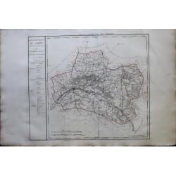 Carte du LOIRET (45)