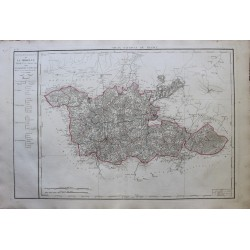 Carte de LA MOSELLE (57)