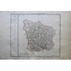 Carte de LA NIEVRE (58)