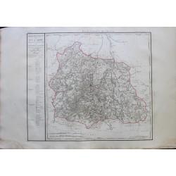 Carte du PUYS DE DOME (63)