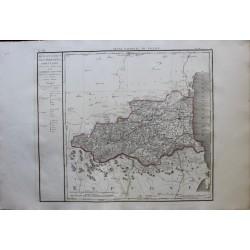 Carte des PYRENEES...