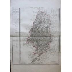 Carte du HAUT RHIN (68)