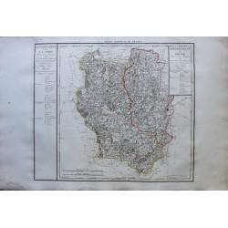 Map of LA LOIRE (42)